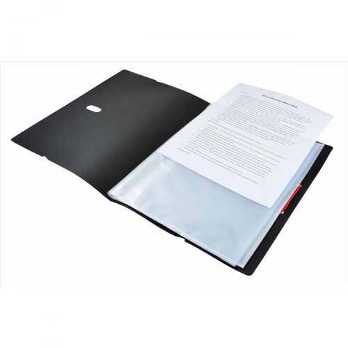 Black N Red Display Book Ref 400050725 [2 For 1] Jan-Dec 2018
