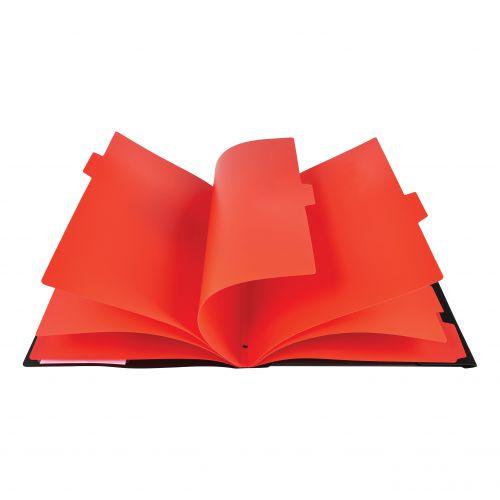 Black N Red 7 Part Sorter Ref 400051534 [2 For 1] Jan-Dec 2018