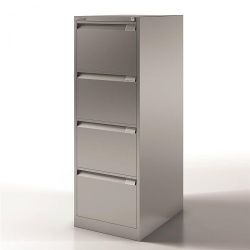 Bisley Filing Cabinet 4 Drawer 470x622x1321mm Ref 1643-av4