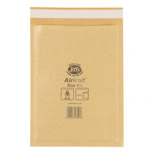 Jiffy Airkraft Gold Bags A5 Size 1 Pk100 Free Pilot Markers Ass Pk4