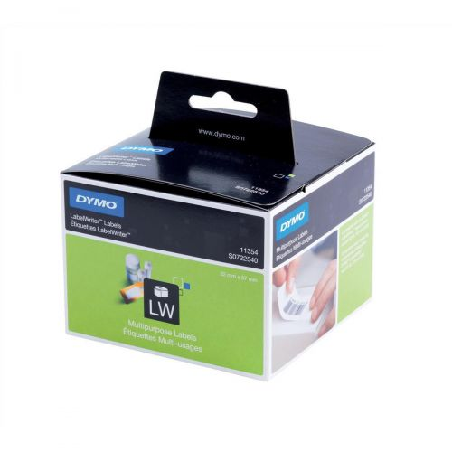 Dymo LabelWriter Labels Multipurpose White Ref 11354 S0722540 [Pack 1000]