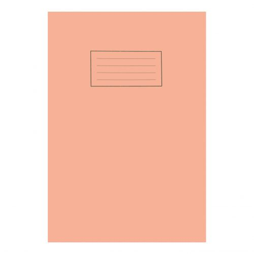 Silvine Exercise Book 5mm Square 80 Pages 75gsm A4 Orange Ref EX113 [Pack 10]
