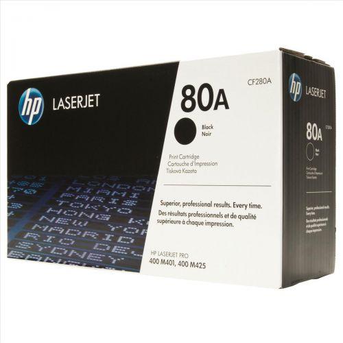 HP 80A Laser Toner Cartridge Page Life 2700pp Black Ref CF280A