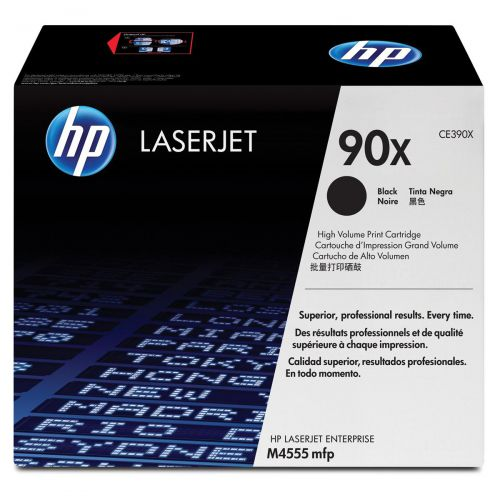 HP 90X Laser Toner Cartridge High Yield Page Life 24000pp Black Ref CE390X