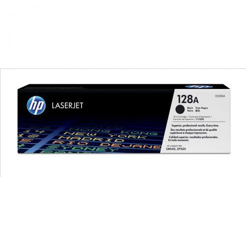 HP 128A Black L/Jet Twin Toner CE320AD