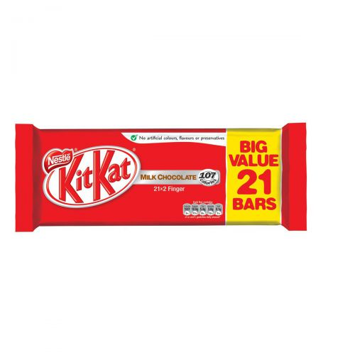 Nestle Kit Kat Chocolate Bars 2 Finger Bars 436.8g Ref 12278361 Pack 21