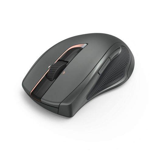 Hama Roma Mouse Optical Wireless 6 Button 1600dpi Right Handed Black Ref 00182672