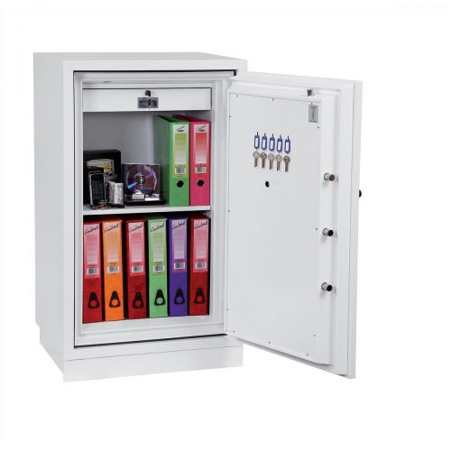 Phoenix Fire Fighter II Safe Electronic Lock 218kg 145 Litre White Ref FS0443E