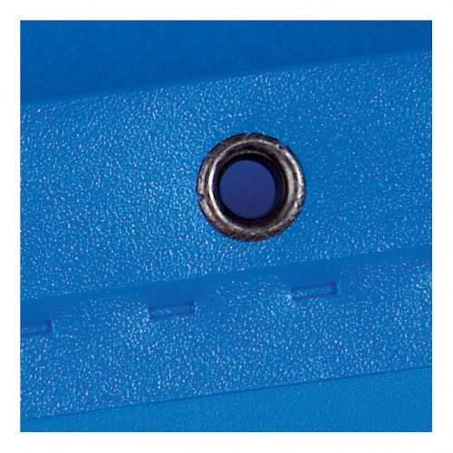 Elba Ultimate Linking Suspension File Polypropylene 80mm Wide-base Foolscap Blue Ref 100330417 [Pack 10]
