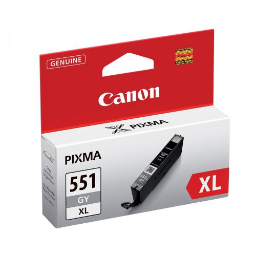Canon CLI-551GY XL Grey Inkjet Cartridge