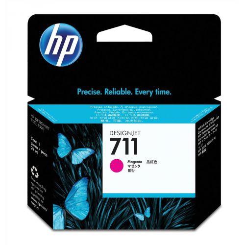 Hewlett Packard [HP] No.711 Inkjet Cartridge 29ml Magenta Ref CZ131A