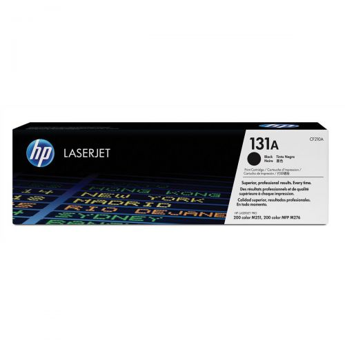 HP 131A Laser Toner Cartridge Page Life 1600pp Black Ref CF210A
