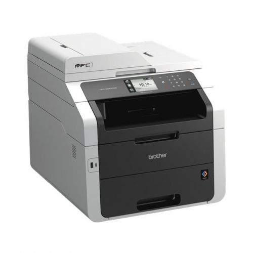 Brother Colour Laser Multifunctional A4 Duplex Printer with Wireless  Network Ref MFC9340CDW