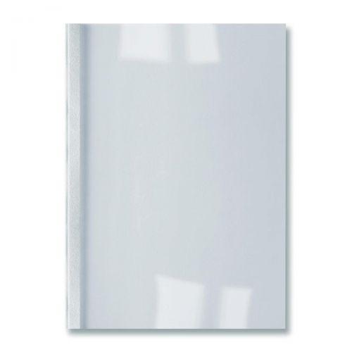 GBC Thermal Binding Covers 3mm Leathergrain White Ref IB451713 [Pack 100]