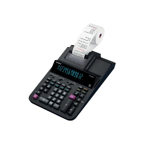 Casio Desktop Printing Calculator 12 Digit 2 Colour Printing 214.5x87.8x339mm Black Ref FR-620RE-E-UC