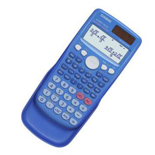 Casio Scientific Calculator Natural Display 260 Functions 80x13.8x162mm Blue Ref FX85GTPLUSBlue