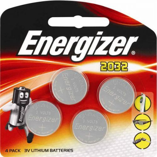 Energizer CR2032 Battery Lithium Ref 637762 [Pack 4]
