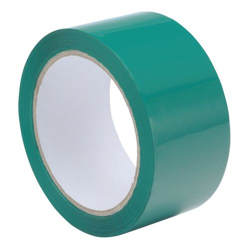 Polypropylene Tape 48mmx66m Green Ref GCP50 [Pack 6]