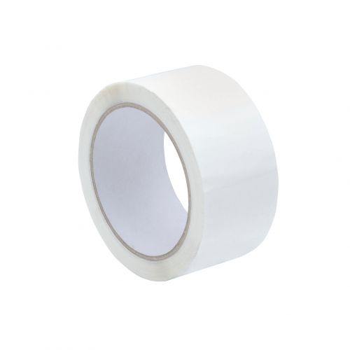 Tape Polypropylene 48mmx66m White [Pack 6]