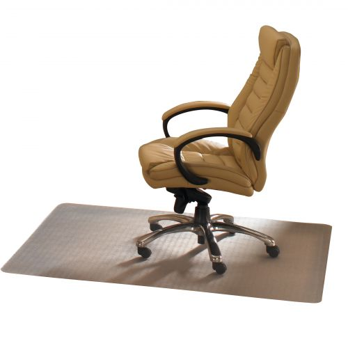 Cleartex Advantagemat Chair Mat For Hard Floors Rectangular 1200x1500mm Clear Ref FCPF1215225EV