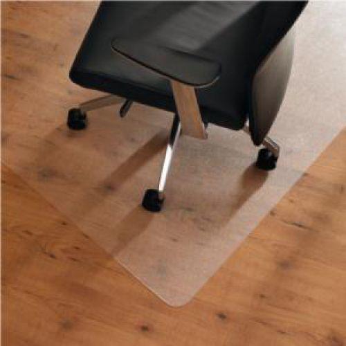 Cleartex Ultimat Chair Mat Rectangular Anti-slip for Polished Floors 1190x750mm Clear Ref FC12197520ERA