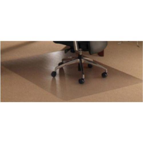 Cleartex Ultimat Chair Mat Rectangular Anti-slip for Polished Floors 1200x1340mm Clear Ref FC1213420ERA