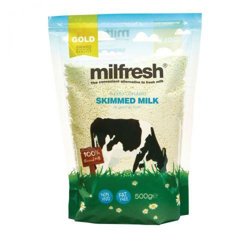 Milfresh Granulated Skimmed Milk Dairy Whitener 500g Ref A02461