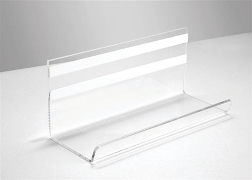 Sigel Artverum Pen Tray 170x75x70mm Acrylic Clear Ref GL199