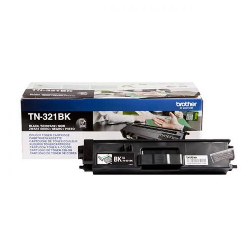 Brother Laser Toner Cartridge Page Life 2500pp Black Ref TN321BK