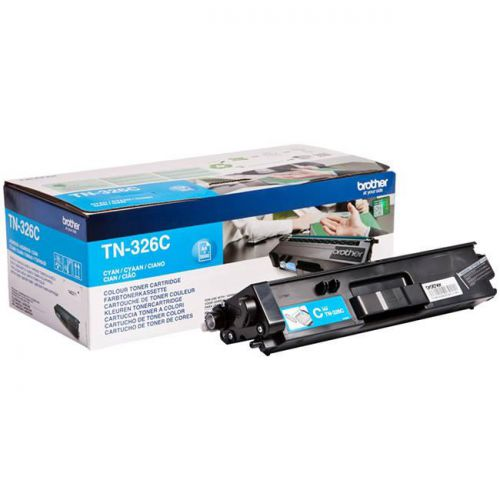 Brother Laser Toner Cartridge High Yield Page Life 3500pp Cyan Ref TN326C