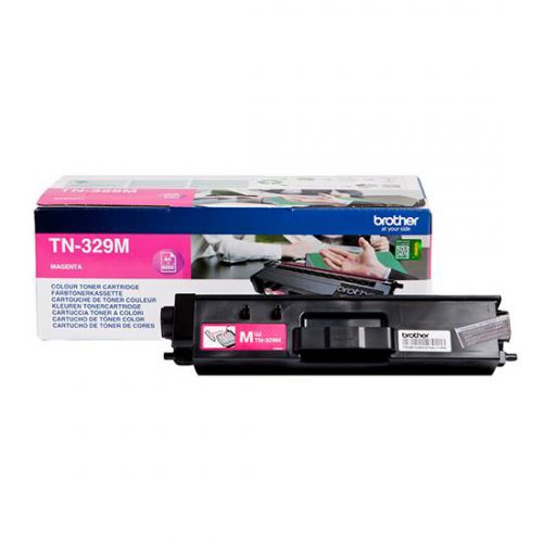 Brother Laser Toner Cartridge Super High Yield Page Life 6000pp Magenta Ref TN329M