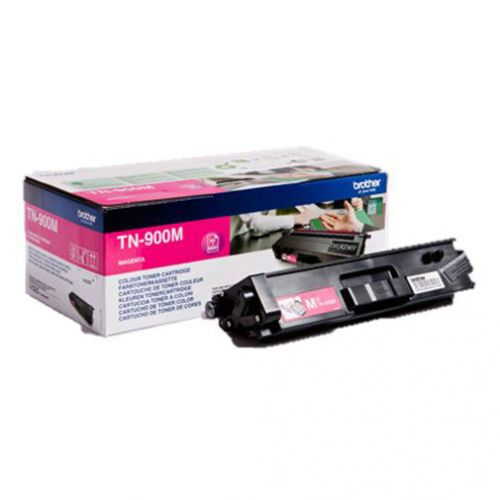 Brother Laser Toner Cartridge Page Life 6000pp Magenta Ref TN900M