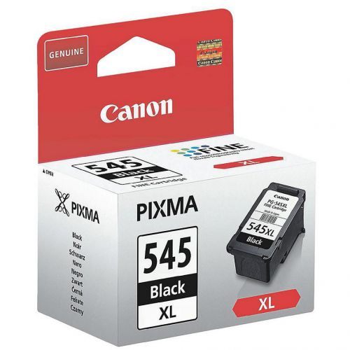 Canon PGI-545XL Inkjet Cartridge High Yield Page Life 400pp 15ml Black Ref 8286B001