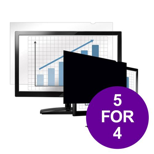 Fellowes Blackout Privacy Filter 24in Widescreen 16:9 Ref 4811801 [REDEMPTION] Apr-Jun 19