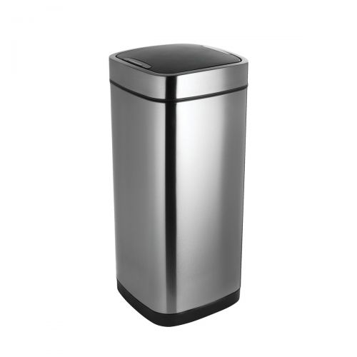 Addis Stainless Sq Press Top 40Ltr Bin