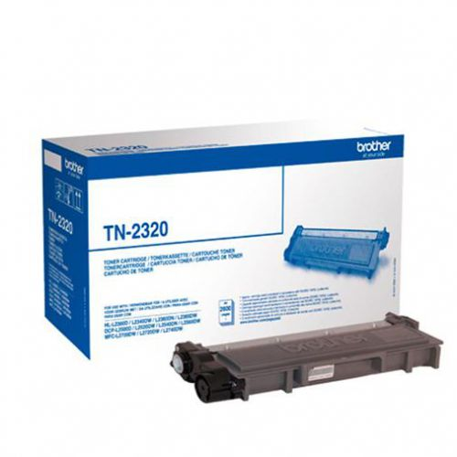 Brother Laser Toner Cartridge High Yield Page Life 2600pp Black Ref TN2320