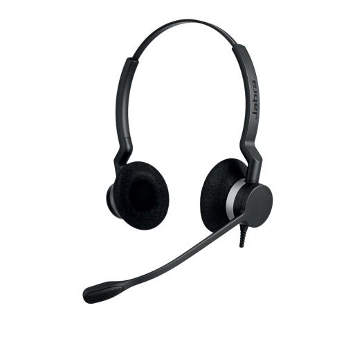 Jabra BIZ 2300 Duo Noise Cancelling Headset Ref 2309-820-104