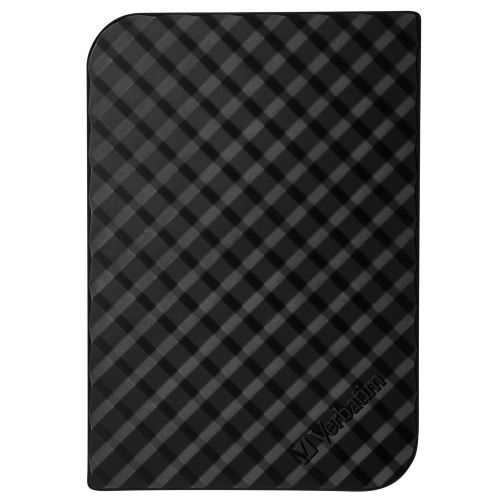 Verbatim Store n Go Portable Hard Drive For Mac and PC USB 3.0 3TB Black Ref 47684