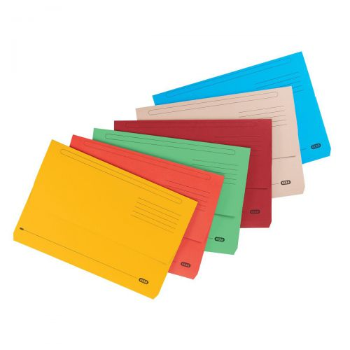 Elba StrongLine Manilla Document Wallet 320gsm 32mm Foolscap Buff Ref 400053600 [Pack 25] [REDEMPTION]