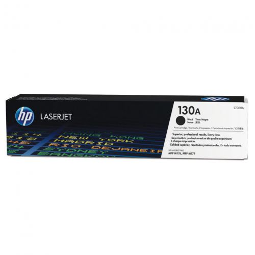 HP 130A Laser Toner Cartridge Page Life 1300pp Black Ref CF350A