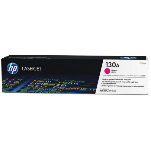 HP 130A Laser Toner Cartridge Page Life 1000pp Magenta Ref CF353A