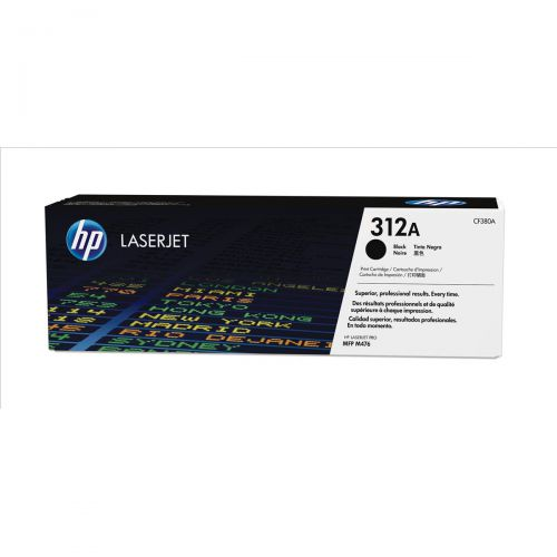 HP 312A Laser Toner Cartridge Page Life 2400pp Black Ref CF380A