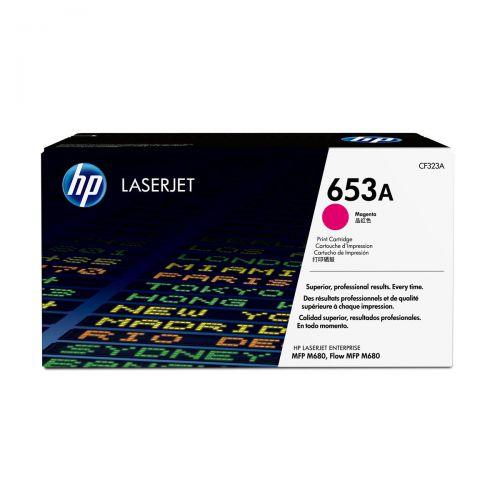 Hewlett Packard [HP] 653A Laser Toner Cartridge Page Life 16500 Magenta Ref CF323A