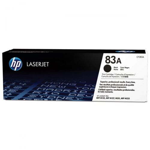 HP 83A Laser Toner Cartridge Page Life 1500pp Black Ref CF283A