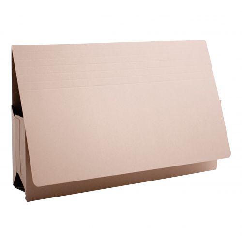 Guildhall Probate Wallets Manilla 315gsm 75mm Foolscap Buff Ref PRW2-BUFZ [Pack 25]