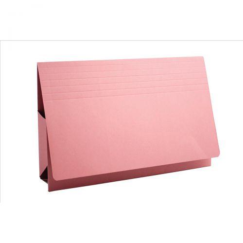Guildhall Probate Wallets Manilla 315gsm 75mm Foolscap Pink Ref PRW2-PNKZ [Pack 25]