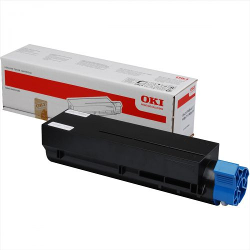 OKI Laser Toner Cartridge High Yield Page Life 7000pp Black Ref 44574802