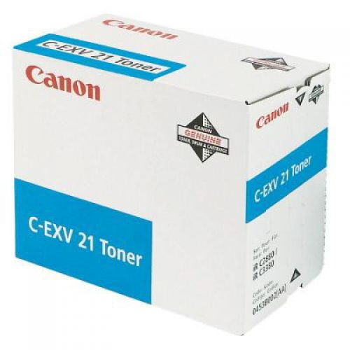 Canon C-Exv 21 Toner Cart Cyan                              f IR2880CTONER