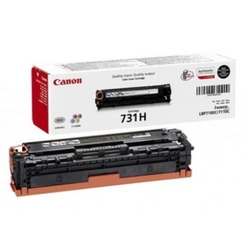 Canon 731HBK Laser Toner Cartridge High Yield Page Life 2400pp Black Ref 6273B002
