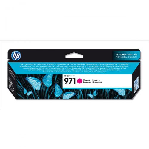 Hewlett Packard [HP] No.971 Inkjet Cartridge Page Life 2500pp 31.5ml Magenta Ref CN623AE